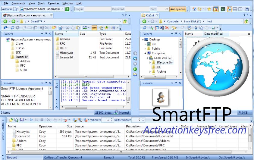 SmartFTP Cracked License Key
