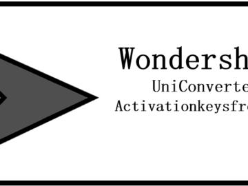 Wondershare UniConverter Full Serial key
