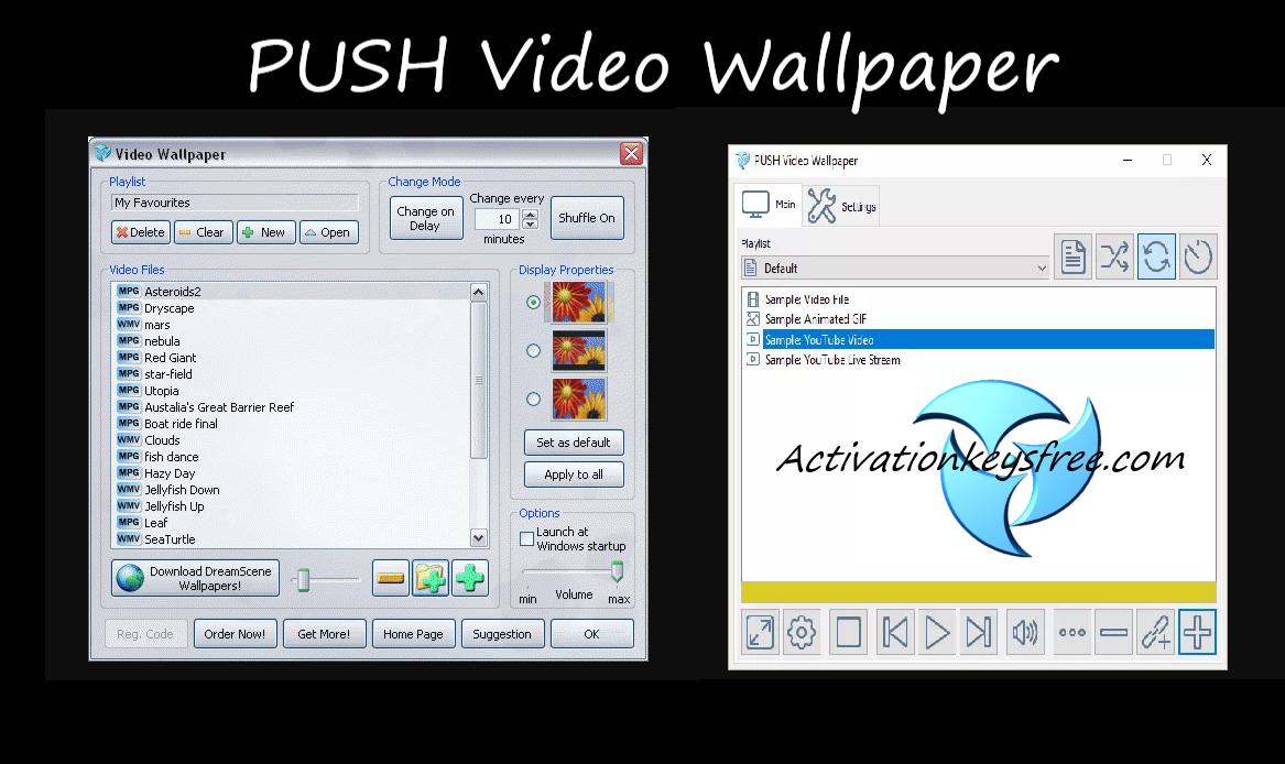 PUSH Video Wallpaper Activation Key