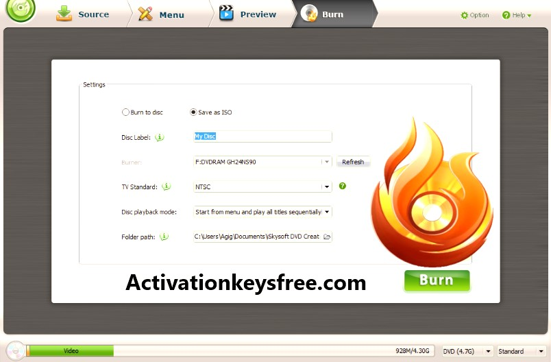 Wondershare DVD Creator Activation Code