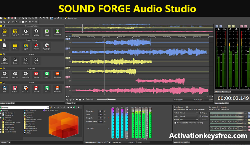 SOUND FORGE Audio Studio Download For Mac