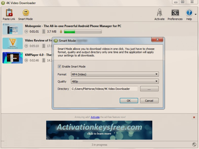 4k Video Downloader Product Key