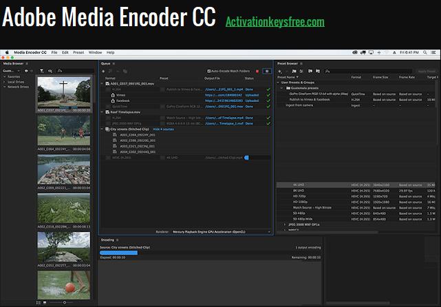 Adobe Media Encoder CC 2020 Full Patch
