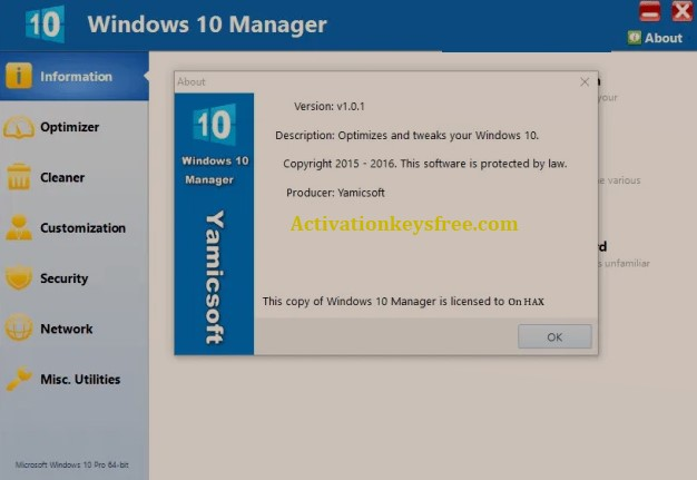 Windows 10 Manager Serial Number