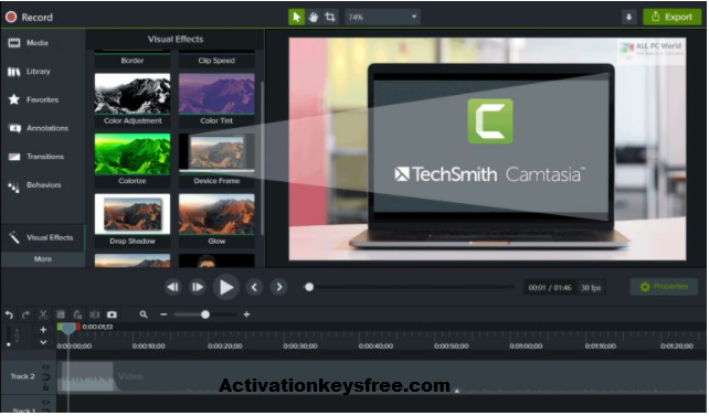 Camtasia Studio Key