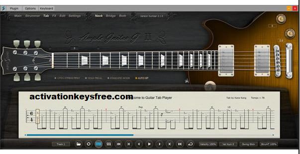 Ample Guitar Key
